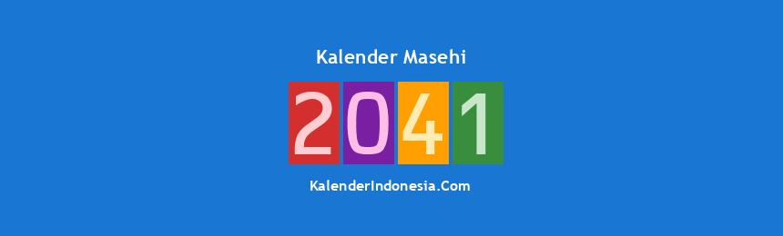 Banner Masehi 2041