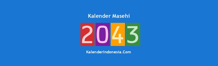 Banner Masehi 2043