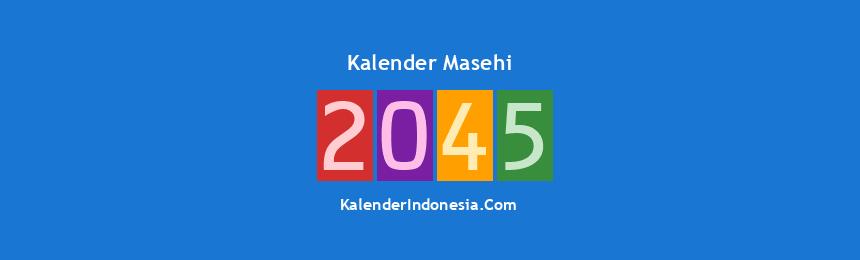 Banner Masehi 2045