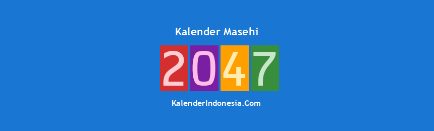 Banner Masehi 2047