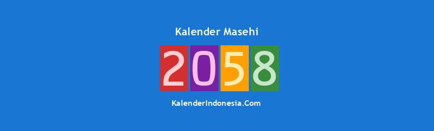 Banner Masehi 2058