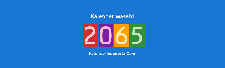 Banner Masehi 2065