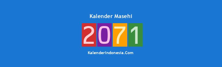 Banner Masehi 2071