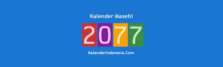 Banner Masehi 2077