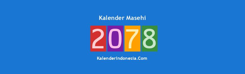 Banner Masehi 2078