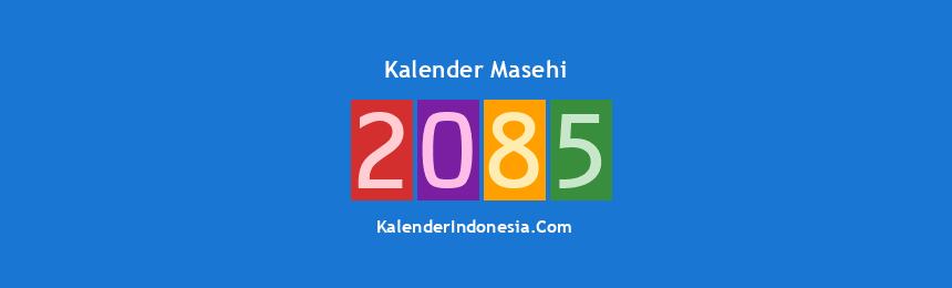 Banner Masehi 2085
