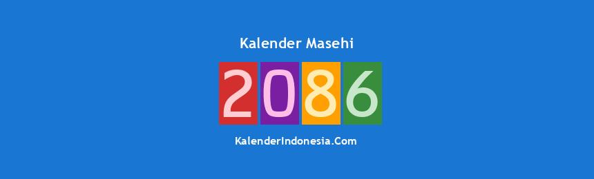 Banner Masehi 2086