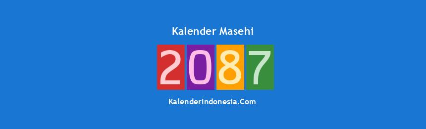 Banner Masehi 2087