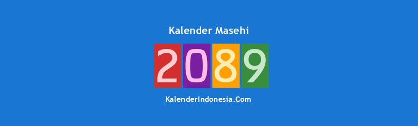 Banner Masehi 2089
