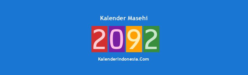 Banner Masehi 2092