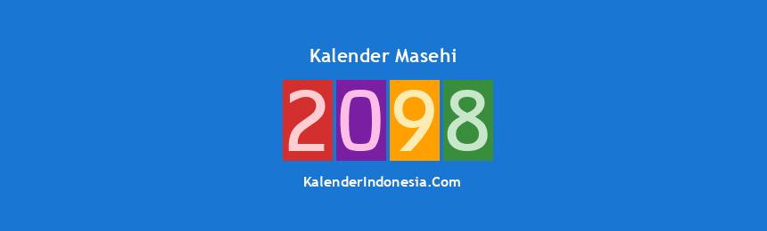 Banner Masehi 2098