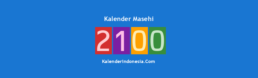 Banner Masehi 2100