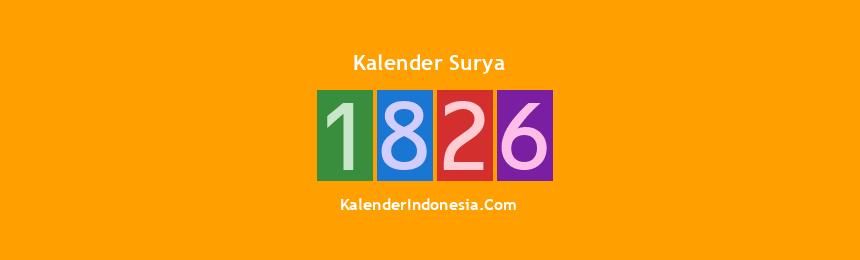 Banner Surya 1826