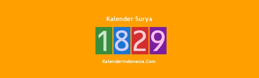 Banner Surya 1829
