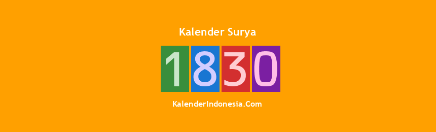 Banner Surya 1830