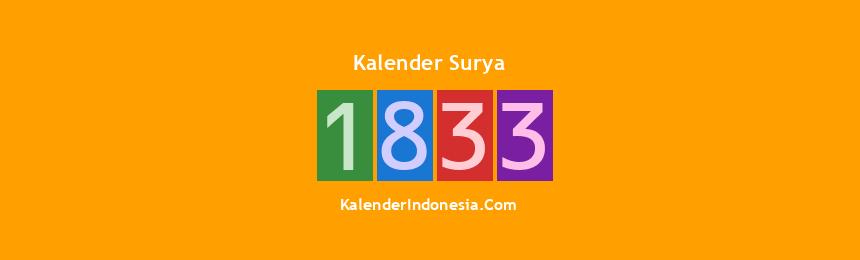 Banner Surya 1833