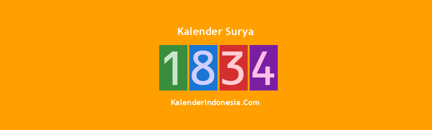 Banner Surya 1834