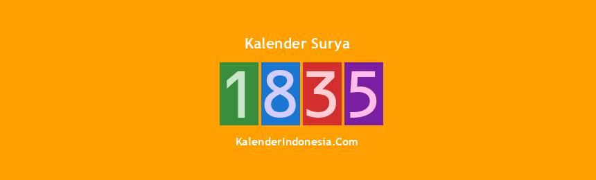 Banner Surya 1835