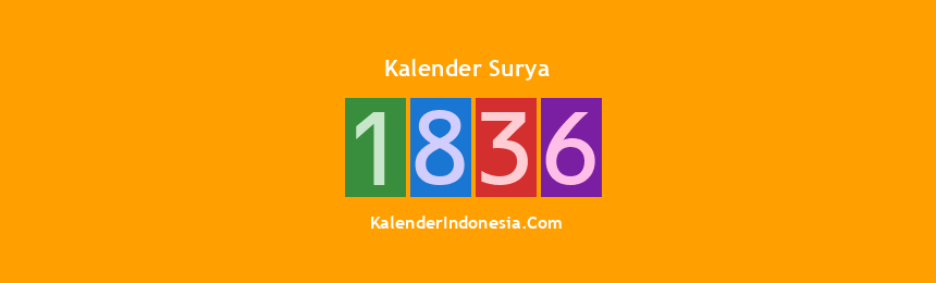 Banner Surya 1836