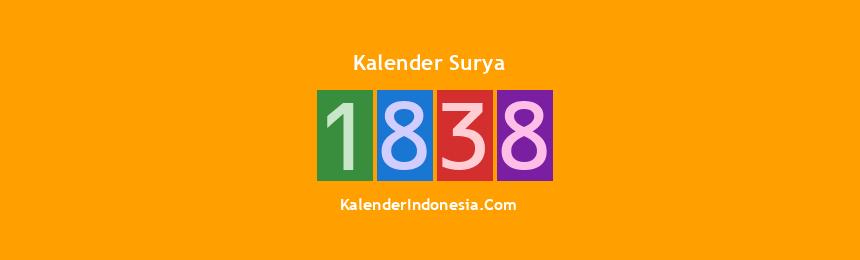 Banner Surya 1838