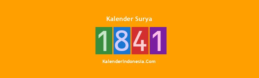 Banner Surya 1841