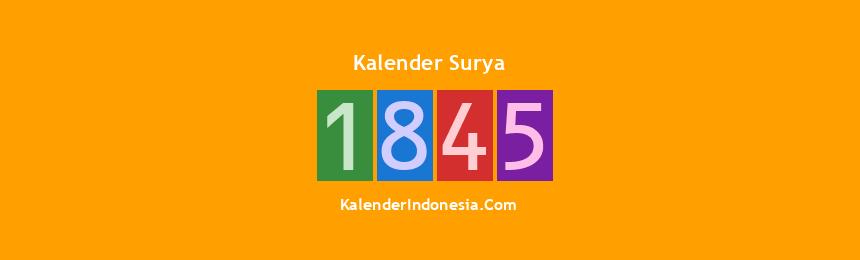 Banner Surya 1845