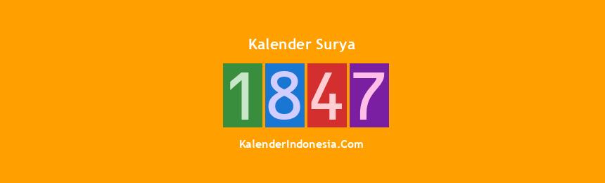 Banner Surya 1847
