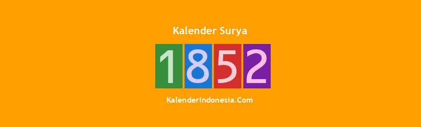 Banner Surya 1852