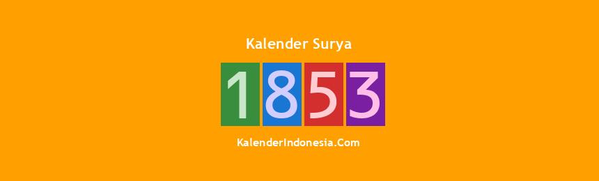 Banner Surya 1853