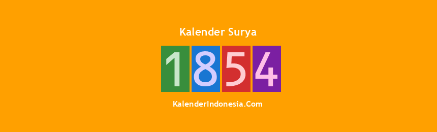 Banner Surya 1854