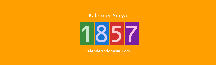 Banner Surya 1857