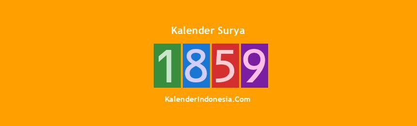 Banner Surya 1859