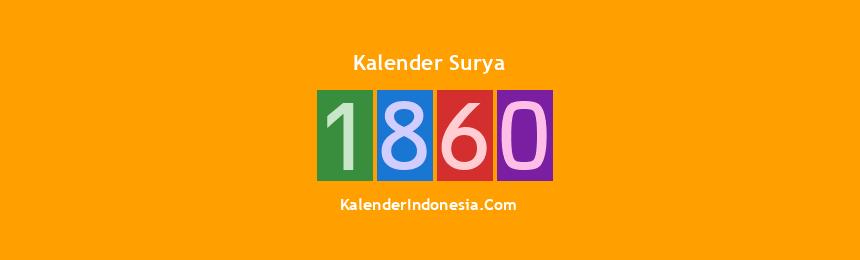 Banner Surya 1860