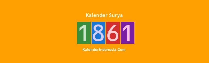 Banner Surya 1861