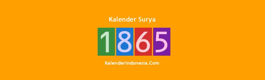 Banner Surya 1865
