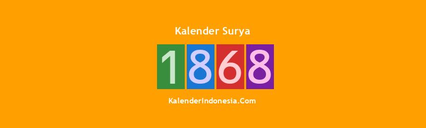 Banner Surya 1868