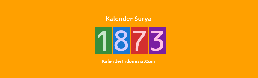 Banner Surya 1873