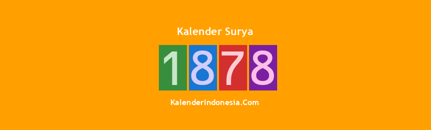 Banner Surya 1878