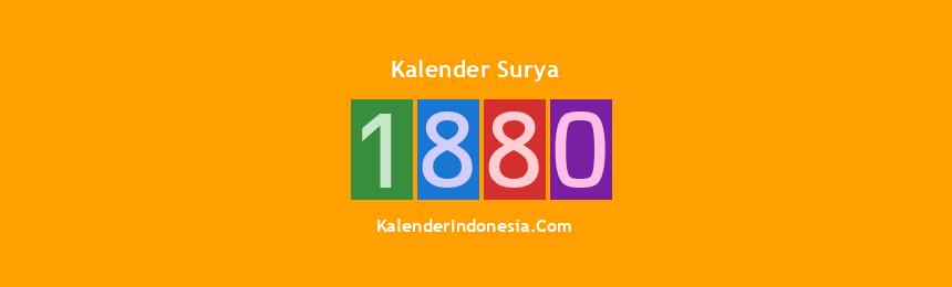 Banner Surya 1880