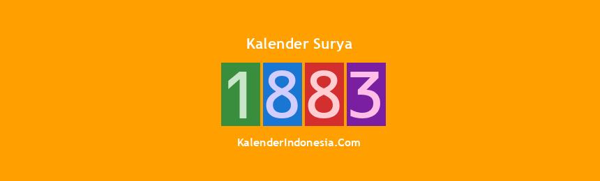 Banner Surya 1883