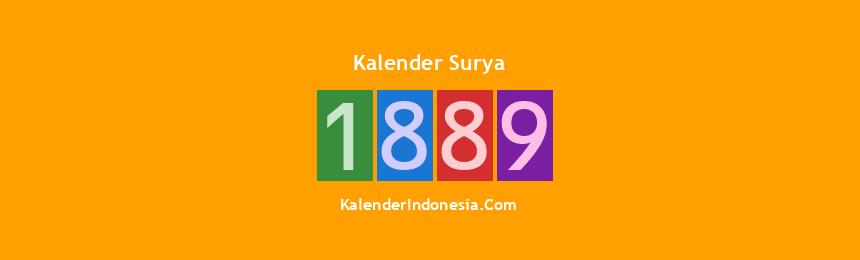 Banner Surya 1889