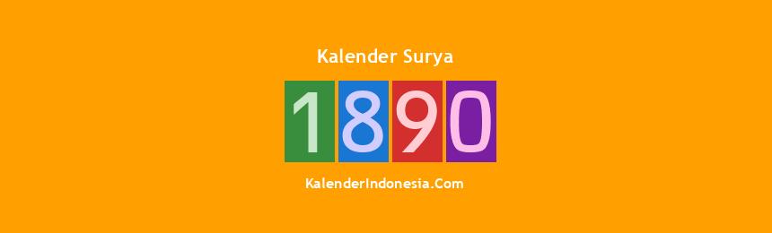 Banner Surya 1890