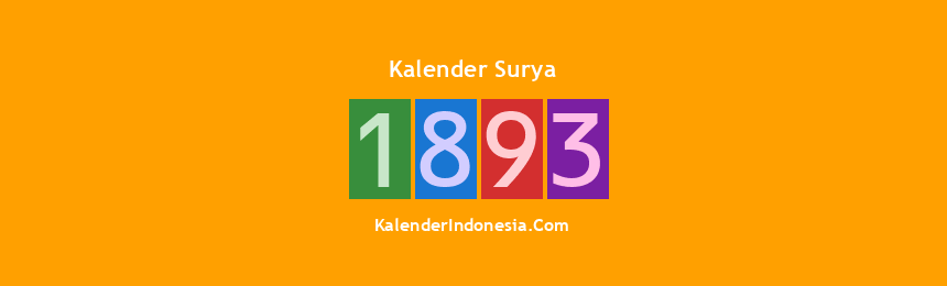 Banner Surya 1893