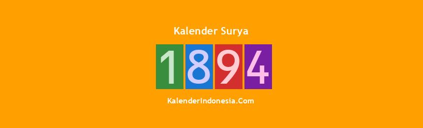 Banner Surya 1894