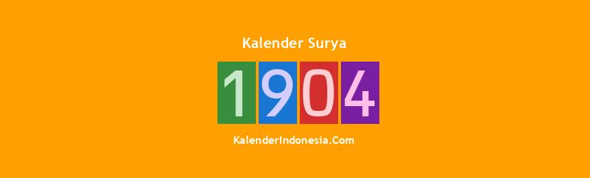 Banner Surya 1904