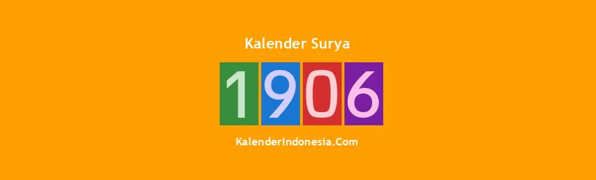 Banner Surya 1906