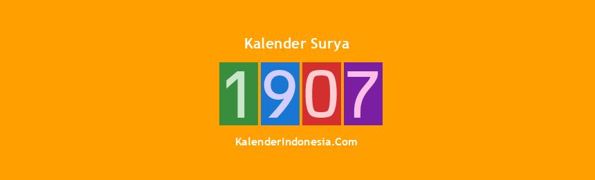 Banner Surya 1907