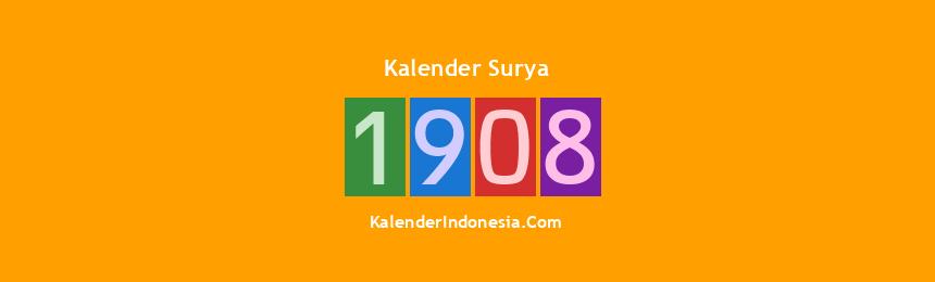 Banner Surya 1908