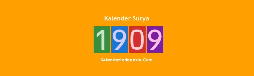 Banner Surya 1909