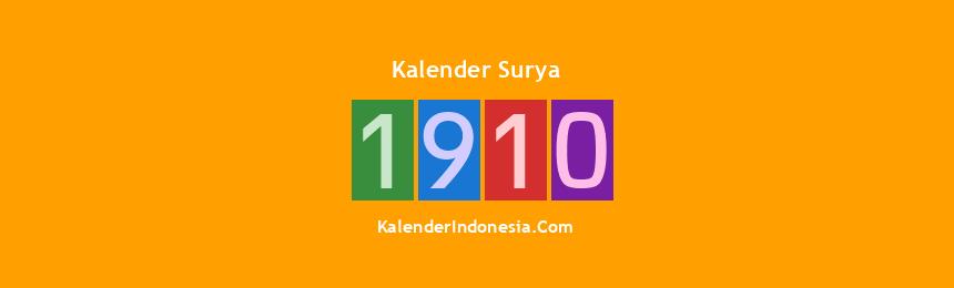 Banner Surya 1910